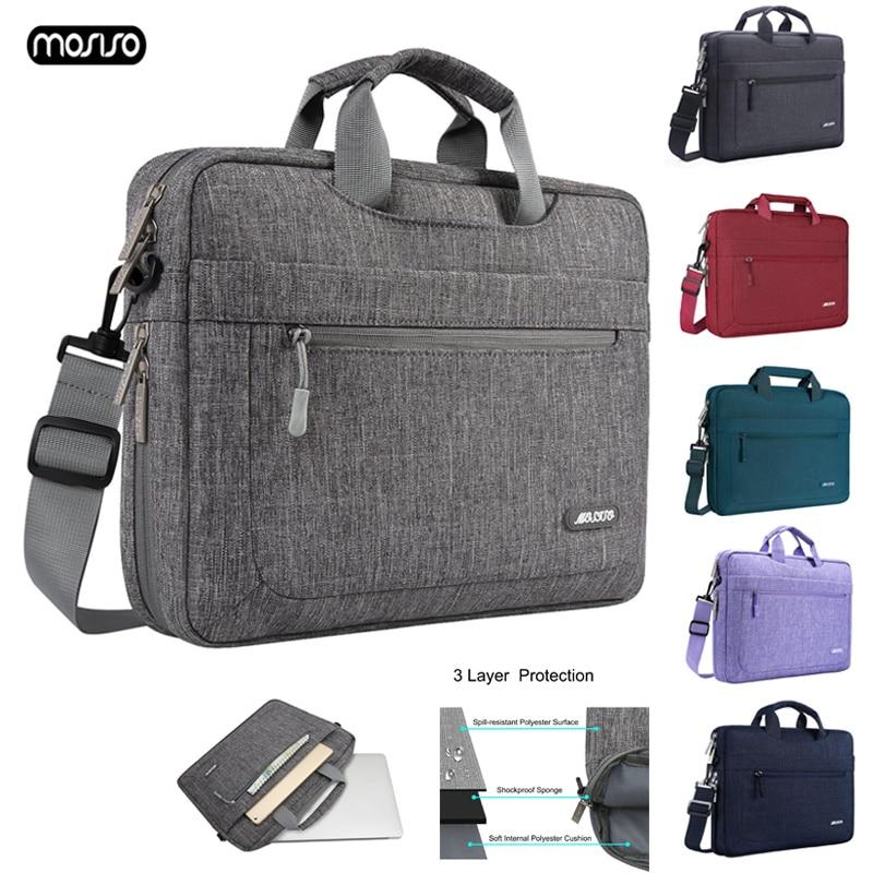 Mosiso 11.6 13.3 15.6 Laptop Shoulder Bag for Macbook Air Pro 13 15 Notebook