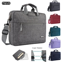 цена на MOSISO Laptop Bag 13.3 14 15.6 17.3 Inch Waterproof Notebook Bag for Macbook Air Pro 13 15 Computer Shoulder Bag For Women Men