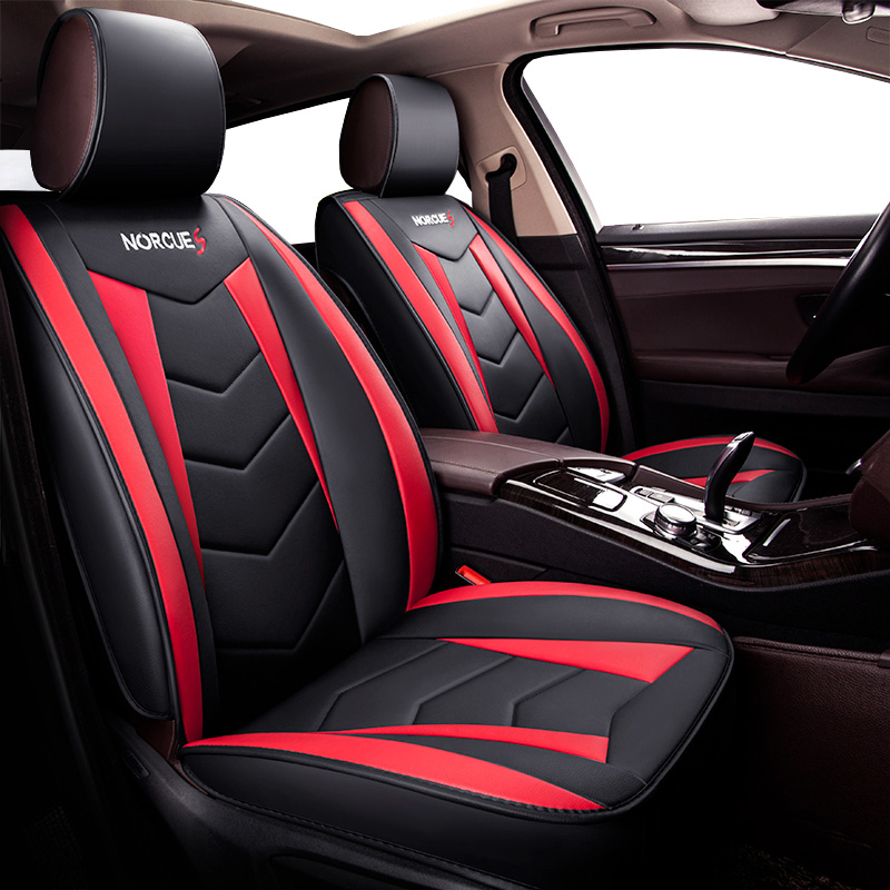 New Universal PU siège de voiture En Cuir couvre Pour Volkswagen vw passat b5 b6 b7 polo 4 5 6 7 golf tiguan jetta touareg auto accessoire