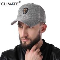 CLIMATE 2017 New Fashion Spring Cool Gray Heavy High Quality Baseball Caps Men Women Autumn Sport
