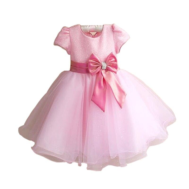 2016 nouvelle marque chaude mode princesse fille robe enfants bébé fille robe enfants vêtements robe filles Cosplay s'applique 3-10 âge - 5
