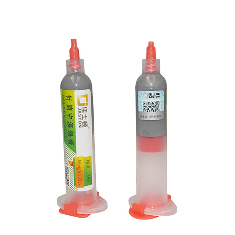 Image 3 - 1pc 10cc Syringe Liquid Flux Soldering Paste 35g Leaded Stencil Welding Tool Low Temperature Melting Point 183C Tin Solder Paste-in Welding Fluxes from Tools