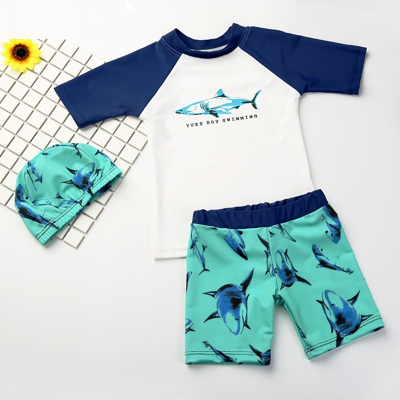 2018 New Children Swimwear Kids Swimsuit Boys Sport Swim Beach Surfing Clothes Boy Gril Swimming Suit Anti-UV Swimming Wear