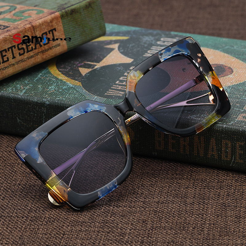 Samjune Women Luxury Brand Designer Fashion Unisex Sunglasses High Quality Men Sun Glasses Male Eyewear Ladies Female Glasses|Women's Sunglasses| - AliExpress