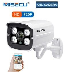 MISECU AHD камеры 720 P 1.0MP пуля высокой мощности матрица светодиодов Водонепроницаемая камера ночного видения ИК-1/4