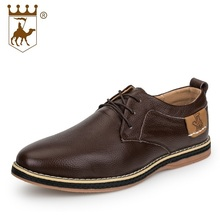 Spring Autumn Casual Shoes Breathable New Fashion Oxfords Men Flats Genuine Leather High Quality Shoes AA20546