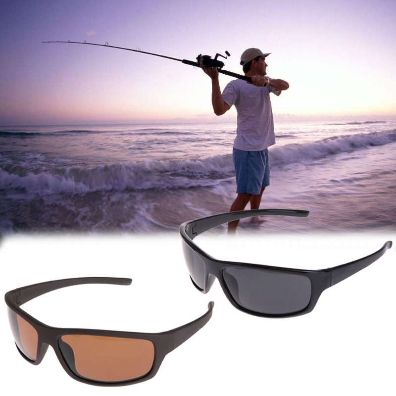 OOTDTY Glasses Fishing Cycling Polarized Outdoor Sunglasses Protection Sport UV400 Men Fishing Equipment