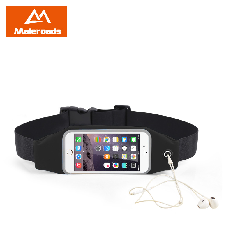 "4.7"" 5.5"" Sport Waist Bag Waterproof Running Fitness Running Belt Pouch Case Mobile Phone Holder for iPhone 5/5S/6/6plus Samsung"
