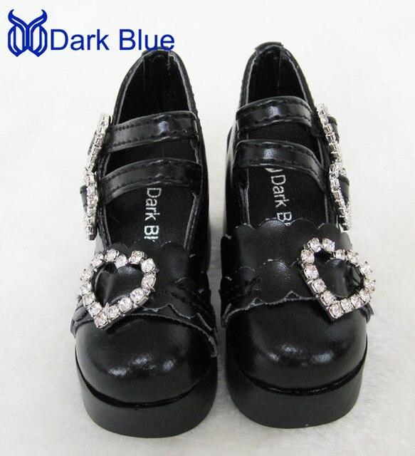 BJD SD Heart shaped shoes DB-001 - 1/3 1/4 MSD.DZ.DOC