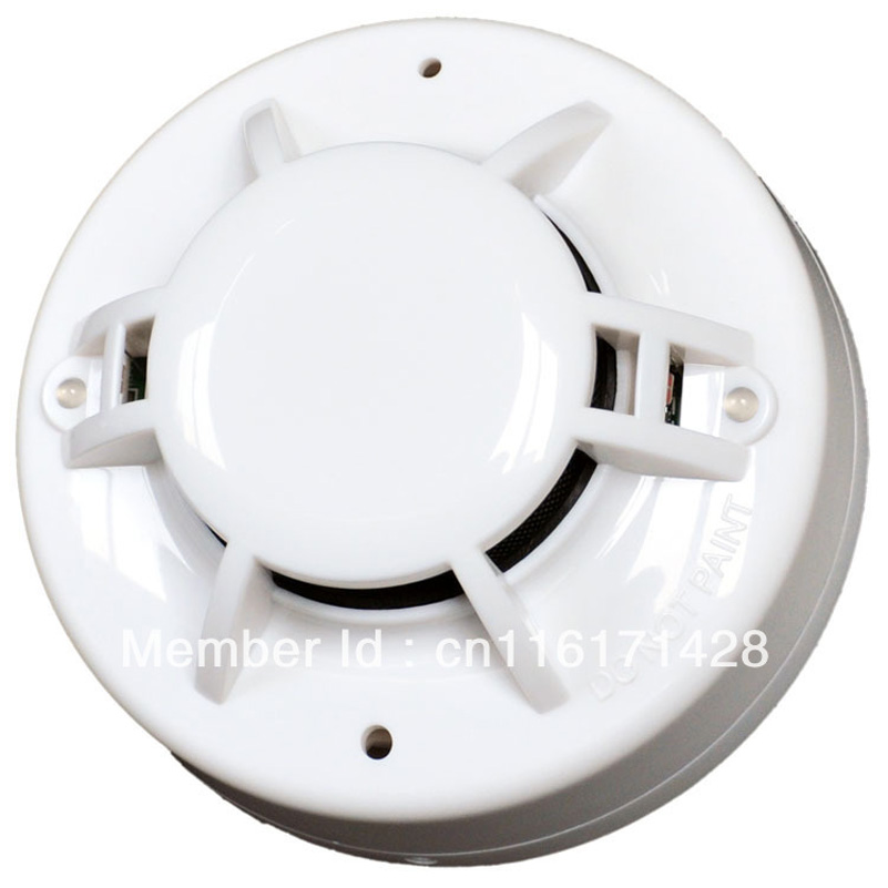 free shipping 2wire  smoke detector heat alarm  Conventional Smoke and Heat Detector  Smoke alarmFT103 wael aboelmaaty laila gadalla and mohamed elkenawy comparing conventional