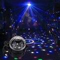 5 Вт Голосовое Управление Автоматическая RGB Мини-led Хрустальный Магический Шар сценический Эффект Освещения Лампы Для КТВ Партии Диско-Клуб DJ свет