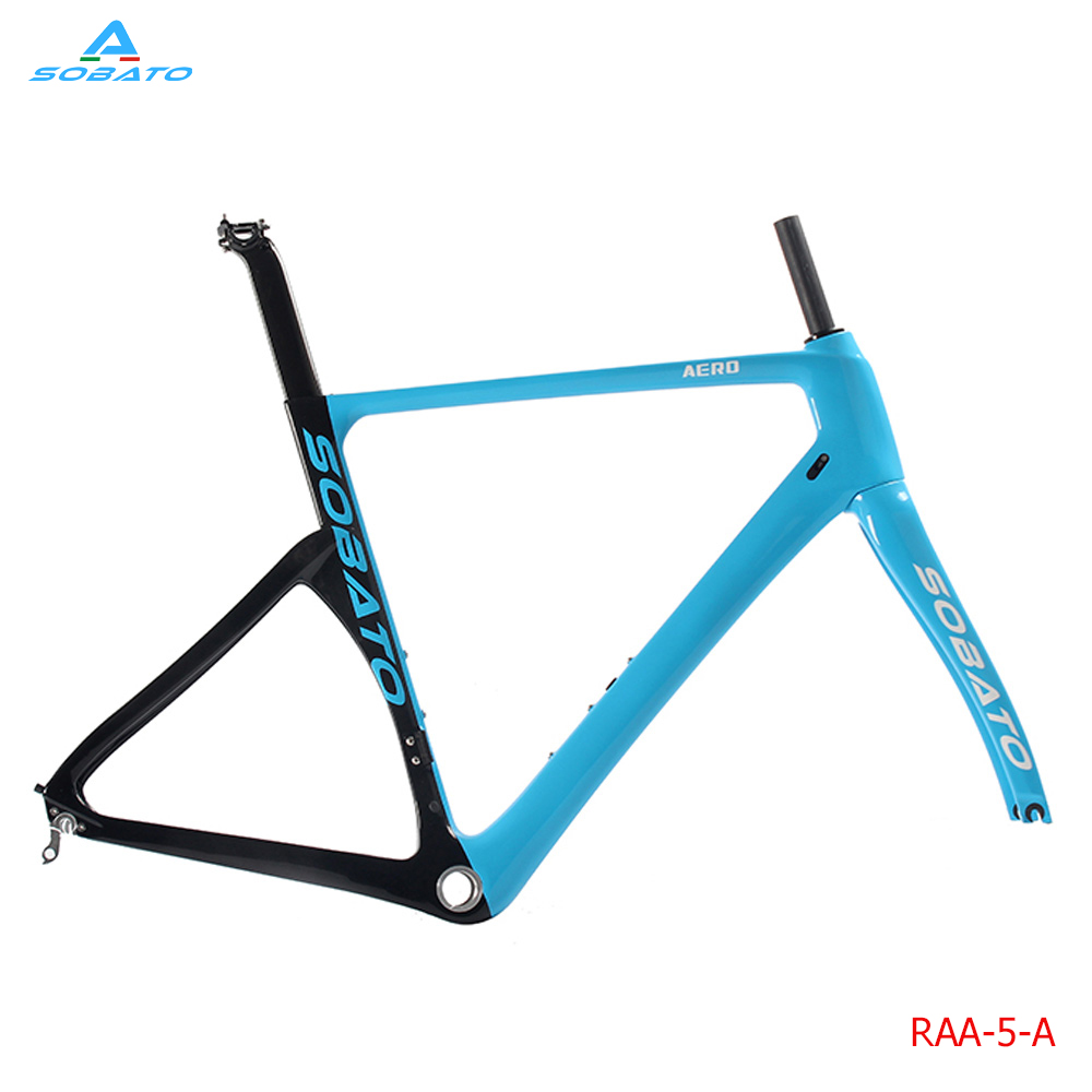 купить Newest OEM 700C Track bicycle full carbon fiber frame TT Time trial carbon Road bike frames+fork+seatpost+seat clamp+headsets по цене 28150.97 рублей