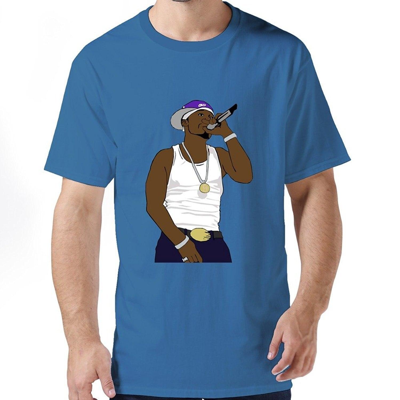 Fashion T Shirt Brand O-Neck Short Sleeve Fashion 2017 Mens Ring Spun 50 Cent Tees