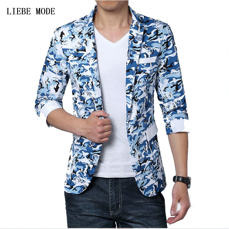 Big Men s Summer Half Sleeve Blazer Floral Print Men's Short Sleeve Suit Jacket Plus Size M 4XL 5XL 6XL