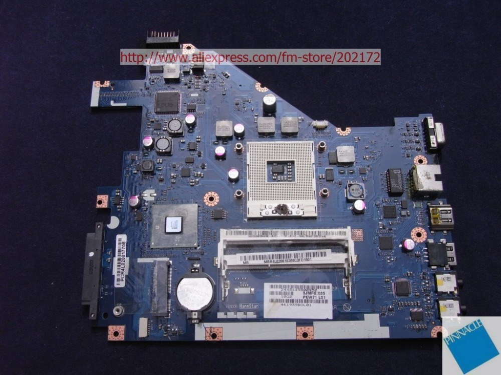 все цены на  MBR4L02001 Motherboard for Acer Packard Bell EasyNote TK86  MB.R4L02.001 PEW71 L01 LA-6582P  tested good  онлайн