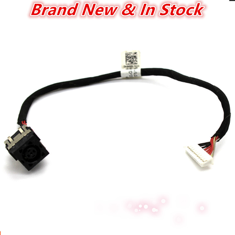 Laptop Dc Jack Power Cable Connector Port Plug Wire Harness For Dell