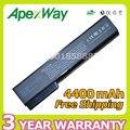 Apexway 4400 mah batería para hp elitebook 8460 p 8460 w 8560 p para probook 6360b 6460b 6465b 6560b 6565b cc06 cc09 cc06x cc06xl