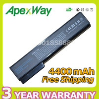 4400mAh Battery For Hp EliteBook 8460p 8460w 8560p 8560w For ProBook 6360b 6460b 6465b 6560b 6565b