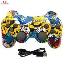 K ISHAKO mutil farbige drahtlose bluetooth gamepad für ps3 Pro controller Gamepad Dualshock Joystick für Plastation3 Konsolen