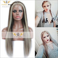 7A 130Density Ombre Highlight Wave Wigs Remi Hair Lace Front Human Hair Wig Glueless Full Lace Human Hair Wig With Baby Hair