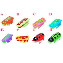 Battery Powered Fast Moving Micro Robotic Bug Toy For Entertaining Your Pets, Cats-Go-Crazy Toys, Cat Toy(China)