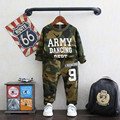 Boys Clothing Set Tracksuit Spring Army Kids Set Children Clothing Suit Cotton Shirt+Pants Kids Set Kid Clohthes Boys Suits