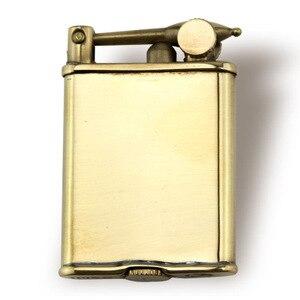 Image 5 - Original IMCO Lighter Retro Gasoline Kerosene Lighter Genuine Ultra Thin Cigarette Lighter Cigar Fire Briquet Petrol Lighters