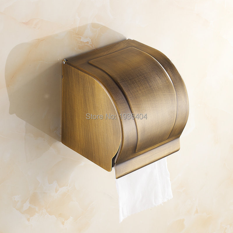 Antique Brass Bathroom Accessories Toilet Paper Holder Waterproof  Paper Dispenser PH213 накладные наушники bang
