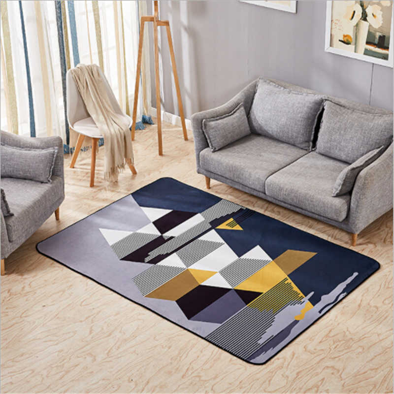 Large Soft Delicate Carpets For Living Room Bedroom Area Rug ...