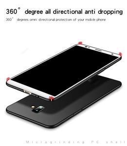 Image 5 - For Samsung Galaxy J6 Plus Case Luxury Thin PC Smooth Hard Phone Case For Samsung Galaxy J6 Plus Cover For Samsung J6 Plus J610