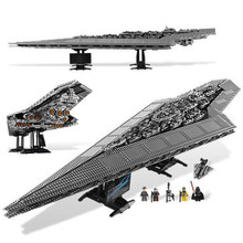 Звездные кирпичи войны императора супер Звездный Разрушитель модель строительные блоки игрушки для детей мальчик совместимый подарок 10221