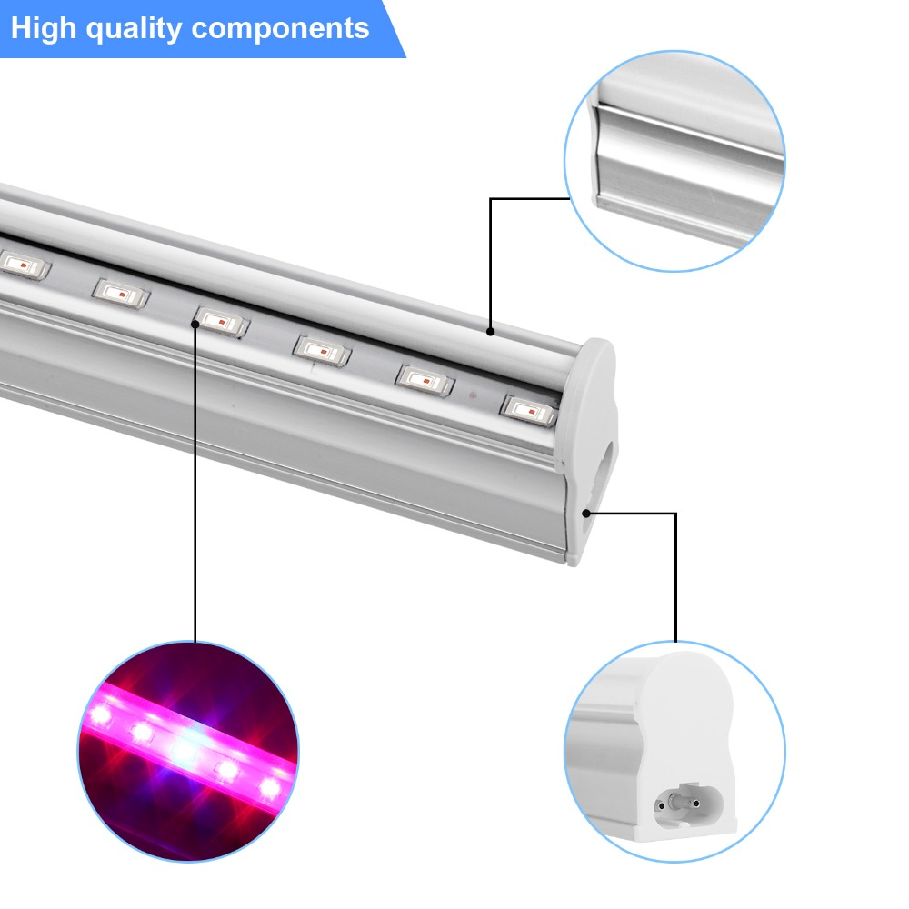 Seeding Cultivation LED Grow Light 5730 Full Spectrum LED Phyto Lamps Fitolampy For Flower Hydroponic Plant  Greenhouse Garden