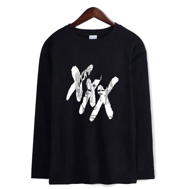 051858226f6 XXXTENTACION T Shirt Famous Rapper T-shirts Long Sleeve Casual Cool Fashion Shirts  Men Women 2018 XXXTENTACION Tops and Tees