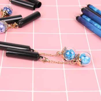 36 pcs/lot korean Twelve constellation wishing bottles pendant gel pen creative office school writing sign pen stationery