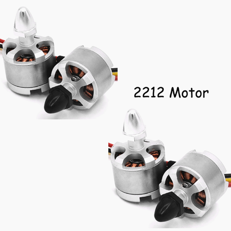 цена на 2pcs DJI Brushless Motor2212 920KV Black Silver CW CCW for 3-4S FPV Quadcopter DJI Phantom F330 F450 F550 X525 Cheerson Drone