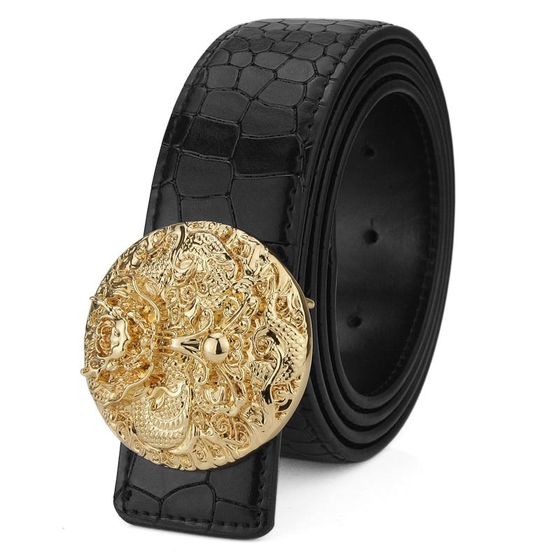 Hot sale Fashion Round buckle designer belts mens luxury famous brand Gasual cinto masculino cowhide Waist Strap ceinture homme