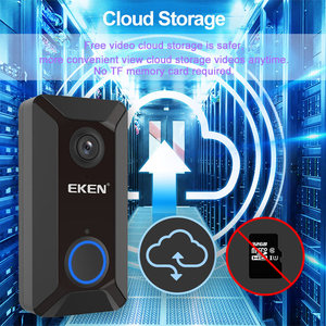 Image 4 - EKEN V6 Smart WiFi Video Doorbell Camera IP Door Bell Wireless Home Visual Intercom APP Control Security Camera