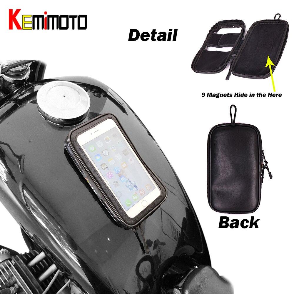 KEMiMOTO Motorcycle bag Oil Fuel Tank Bag 5.5