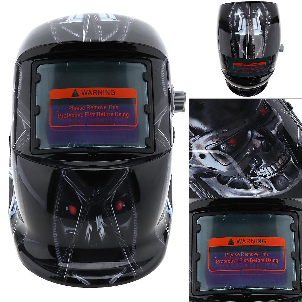 Mascara de soldar terminator con oscurecimiento automatico