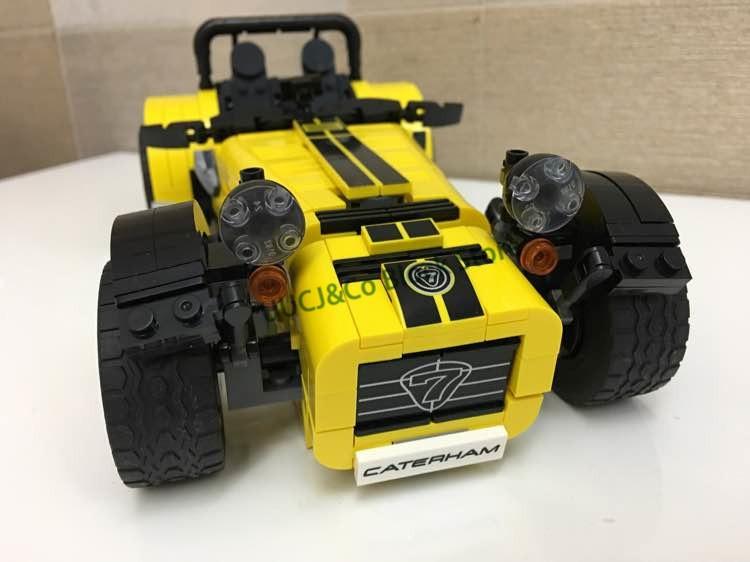 LEPIN 21008 771Pcs Technic Series Carterham sports car Building Blocks Bricks font b Toys b font