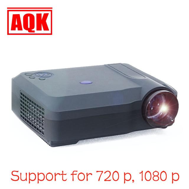 4200 lúmenes de Cine En Casa 1080 P LCD de Video LED Proyector fuLL HD Proyector Projetor projektor Beamer