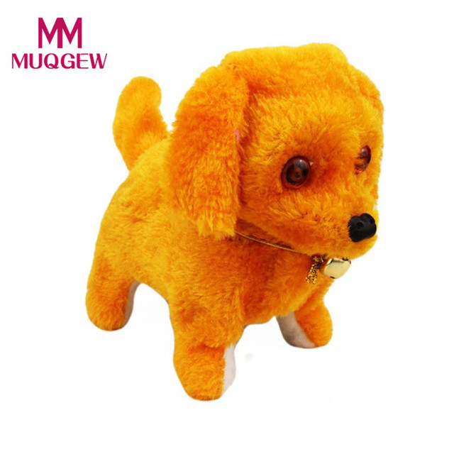 New Robotic Cute Electronic Walking Pet Dog Puppy Kids Toy With