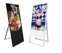 43 47 55 inch VIP face recognition new portable floor standing digital smart signage advertising display monitors screen
