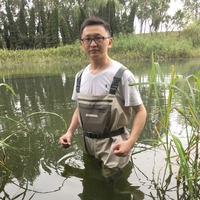 JEERKOOL Fly Fishing Wader Clothes Portable Chest Overalls Waterproof Pants Waders Elastic Rubber Boots Hunting Clothes As Dawa