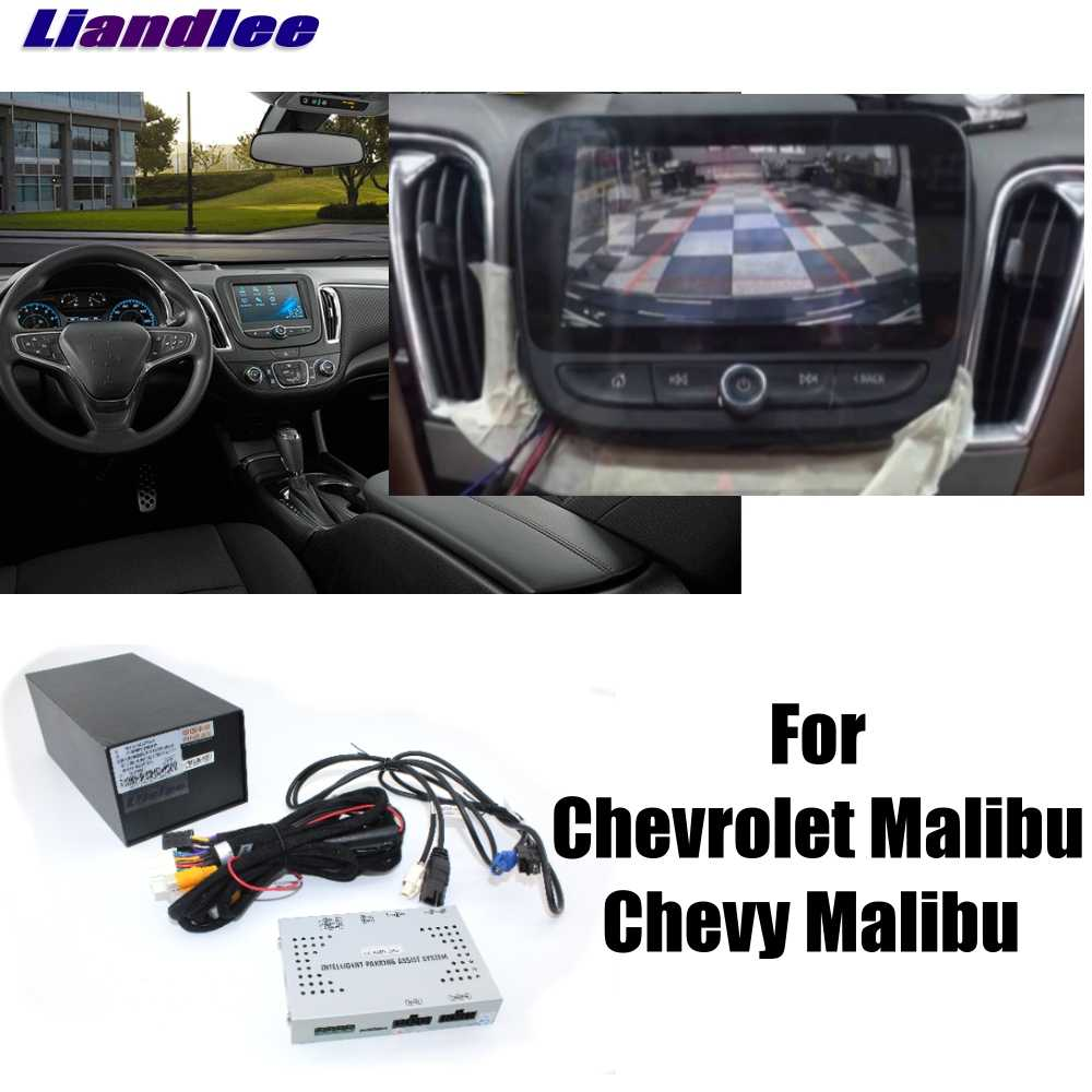 liandlee car parking camera interface reverse back up camera kits for chevy for chevrolet malibu display [ 1000 x 1000 Pixel ]