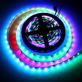WS2811 LED Strip 5050 SMD RGB LED 30/60leds/m 5M DC 12V Dream Magic Color Addressable Digital Diaode Tape , 1 ic control 3 led