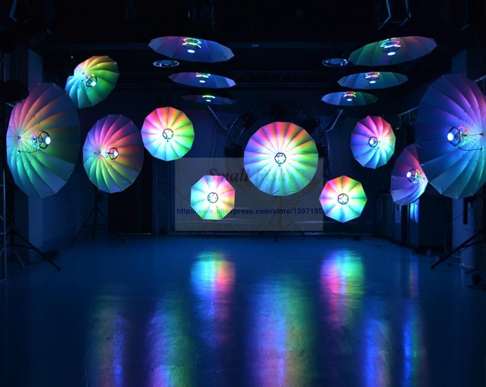2Pcs Lot 114x0 2W RGB LED Magic Stage Effect Lighting Professional Disco Club DJ KTV Music Stage Light Sound Party Lights in Stage Lighting Effect from Lights Lighting