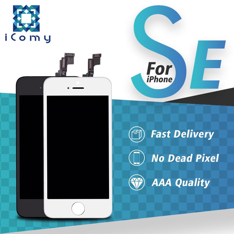 Prix pour 100% meilleur qualité shenchao mobile écran du téléphone pour iphone se lcd écran tactile convertisseur analogique-numérique no pixel mort livraison gratuite