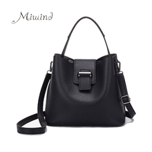 Women Bag Handbag Tote Over Shoulder Crossbody Messenger Leather Female Black 2017 Set Bag Lock Fashion Girl Luxury Designer Bag(China (Mainland))