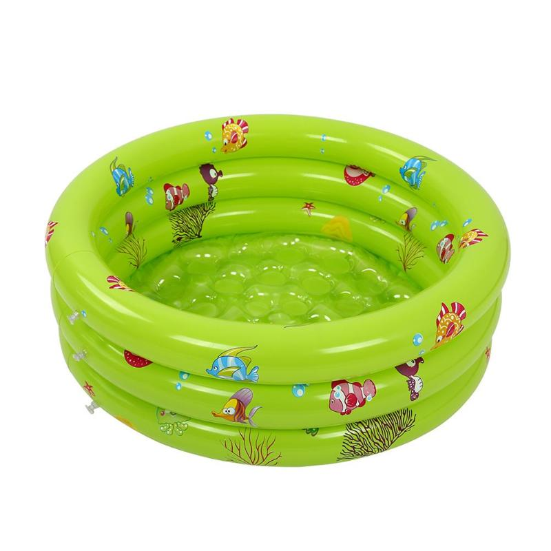 Portable Outdoor Children Basin Bathtub Trinuclear Inflatable Baby Swimming Pool Portable Outdoor Children Basin 3 size Pool